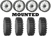 Kit 4 System 3 Xm310r Tires 34x9-20 On System 3 St-3 Machined Wheels Fxt