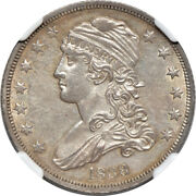 1838 Capped Bust Quarter Ms / Mint State 61 Ngc 25c C00038911