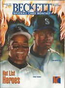 Frank Thomas And Ken Griffey Jr. Cover Beckett Baseball Price Guide Mantle On Back