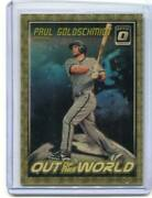 2018 Optic - Paul Goldschmidt - Out Of This World Superfractor 1 Of 1 Cardinals
