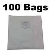 100 Type Q Bags For Kenmore Vacuum 5055, 50558, 50557 Hepa Cloth Canister 433934