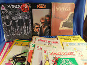 30 Music Books The Police.weezer Sheet Music Children Lesson Books Piano Masters