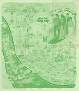 1974 City Of Liverpool Beatles Pictorial Map