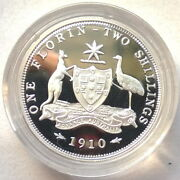 Australia 1998 Old Coinage 1910 Florin 20 Cents Silver Coinproof