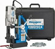 Hougen 3/4 Chuck, 2 Travel, Portable Magnetic Drill Press 450 Rpm, 9 Amps, ...