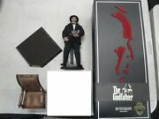 The Godfather Don Vito Corleone Mms91 Exclusive Action Figure + Hat 1/6 Hot Toys