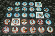 1963 Salada Tea Junket Baseball Coin Collection 28 Coins Total Must See