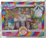 Party Popteenies Mega Party Surprise Set, Brand New In The Box 50+ Pieces Inside