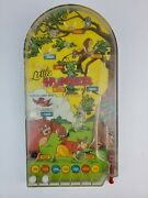 Vintage Wolverine Toys Little Hunter Pinball Machine Toy Tested And Working Tin