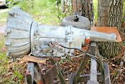 64 1/2 Mustang 5 Bolt C4 Transmission Complete Corrrect And Original Very Nice