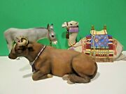 Lenox Nativity Miracle In Bethlehem The Animals Lynn Bywaters New In Box Withcoa