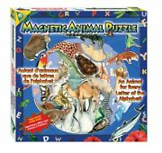 New Orb Factory Magnetic Magnet Alphabet A To Z Animal Puzzle And Poster 26 Piece