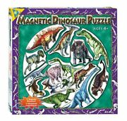 New Orb Factory Magnetic Magnet Dinosaur Puzzle And Poster 15 Piece