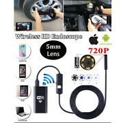 8led Wifi Endoscope Borescope Inspection Hd 1200p Camera For Iphone 11 Xs Xr 8 7