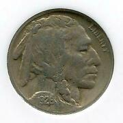 1926-s 5c | Buffalo Nickel | Very Fine Plus | 970k Mintage | San Francisco Cp631