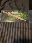 Owlcrate Sting Wooden Letter Opener Hobbit Lord Of The Rings