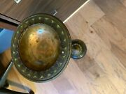 Antique Louis Standing Floor Ashtray 251a With Free Shipping