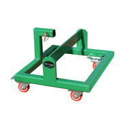 Green Suitcase Weight Cart And Receiver Transports Weights And Ballast Receiver