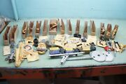 Maico Parts Lot New Nos Nice Make Offer As Shown Pegs Brace Spokes Chain M6