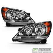 For 2008 2009 2010 Honda Odyssey Headlights Headlamps Factory Style Left+right