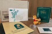 Winnie The Pooh And Pin Disney Wdcc Figurine Time For Something Sweet Honey Tree