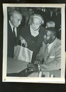 Original July 14 1961 Sonny Liston Hearing Boxing 8 X 10 Wire Photo