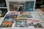 Lot Of Lionel Model Trains Books And Booklets 1950's--1980's
