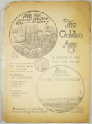Golden Age Magazine April 9, 1924 119 Luther's 95 Theses Watchtower Jehovah