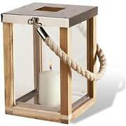 Candle Lantern Natural With Rope Best Gift Of Christmas