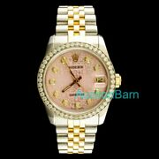 Rolex Datejust 1.00ct Diamonds 31mm Mid-size Watch 11