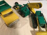 Metal Toy Structo Construction Trucks Great Condition