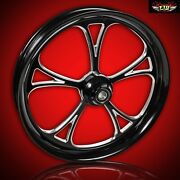 Ftd Customs Fat Front Wheel And Tire Kit Cyclone 180mm Fat Front Tire And Wheel