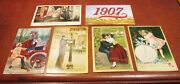 Vintage Lot Of Postcards Happy New Years And More Posted Hammond Indiana 1900's