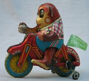 Vintage Circus Monkey Motorcycle - Come Circus - Made In Japan By Bandai