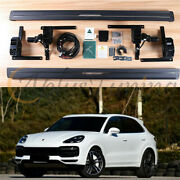 Deployable Electric Running Board Side Step Nerf Bar Fits For Cayenne 2011-2017