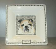 New Large Square Candy Tray  From Darling Dog Pattern Gien, France