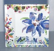 New Extra Large Square Candy Tray Eden Pattern From Gien