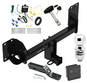 Trailer Tow Hitch For 19-20 Bmw X5 Except M Sport Package Wiring 2 Ball And Lock