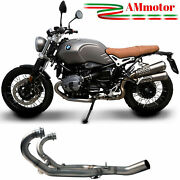 Collector Bmw R Ninet 2018 18 Termignoni No Kat Tube Exhaust Motorcycle Manifold