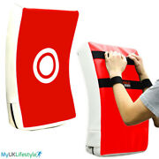 Curved Strike Shield Kick Pads Boxing Punching Arm Focus Pads Mma Gym Training