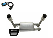 Gibson Stainless Dual Exhaust Power Vision Cx Flash Rzr Xp1000 Xp 4 1000 '14