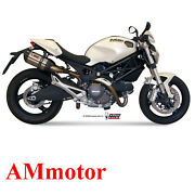 Mivv Ducati Monster 696 2008 08 Exhaust Suono Motorcycle Silencers