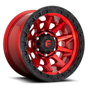 17 Fuel Covert Red Alloy Wheels Tyres Ford Ranger F150 Toyota Hilux Dmax L200