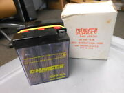 Nos Charger By Jeico Dry Motorcycle Battery Made In Japan Bmw Ducati B38-6a