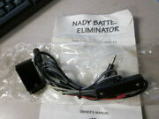 Nos Nady Battery Eliminator Power Supply For Motorcycles Comunications Be-7l