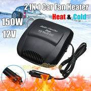 Car Heater Vehicle Plug In 2 In1 Portable 30s Fast Heating Defrosts Defogger Us