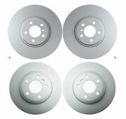New Front And Rear Genuine Vented Disc Brake Rotors Kit For Bmw F15 F16 X5 X6