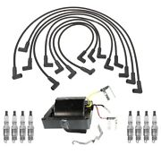 Ignition Wires Coil 8 Spark Plugs .045 Kit Acdelco For Chevy Gmc V8 Ld With Hei