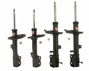 Kyb Excel-g Front And Rear Suspension Struts Kit For Toyota Highlander 10-13 Awd
