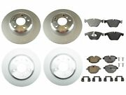 New Genuine Front And Rear Brake Kit Disc Rotors And Pads For Bmw F10 528i 2014-2016